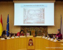 Ponencia sobre las impresoras y libreras del siglo de oro en Alcalá.